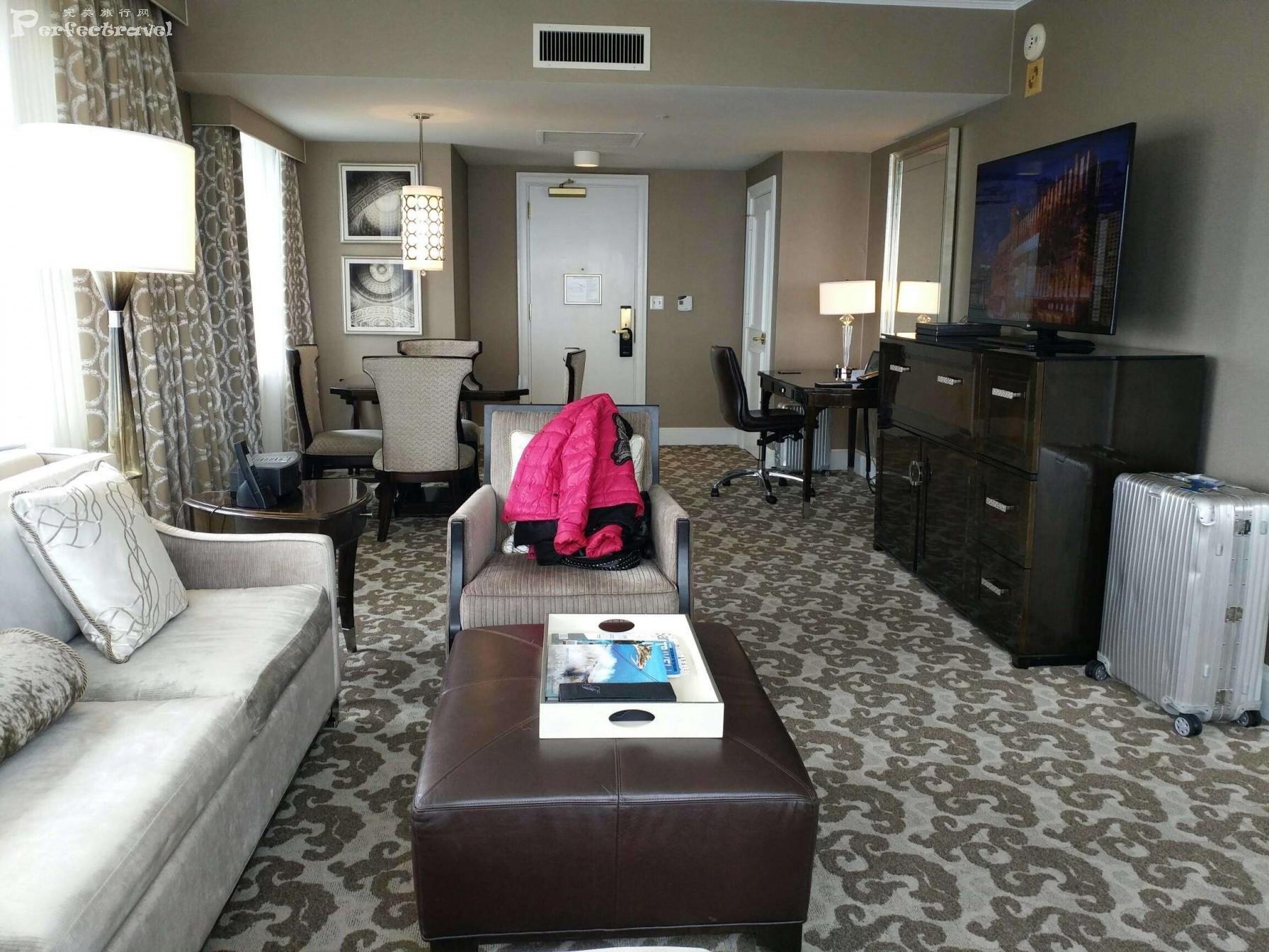 花样姐姐游美国(第三天):传奇的起点-旧金山费尔蒙酒店 - 完美旅行Perfectravel - 完美旅行Perfectravel的博客
